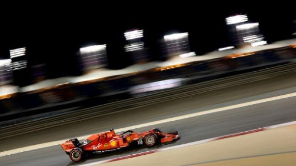 GP de Bahreïn: Ferrari devant, cette fois avec Vettel