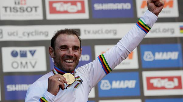 Cycling - World champion Valverde to retire after 2021 season