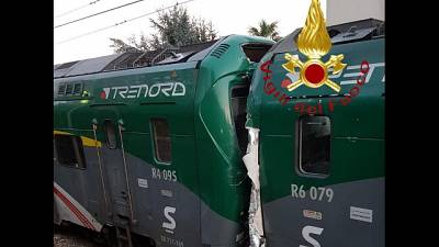 Scontro treni:sciopero un'ora 1/o aprile