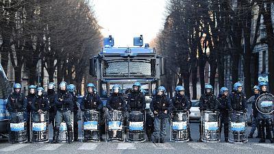 Anarchici, timori a Torino per corteo