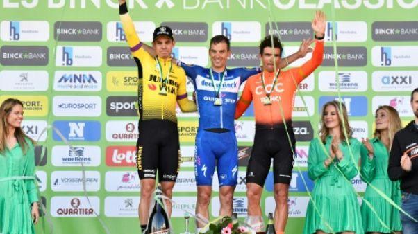 GP E3 cycliste: Stybar à la conclusion pour son équipe Deceuninck