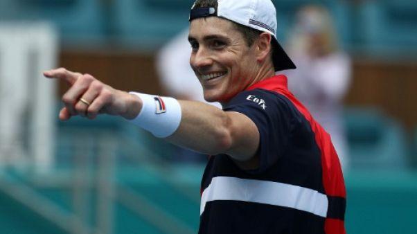 Tennis: Isner stoppe Auger-Aliassime en demi-finales à Miami