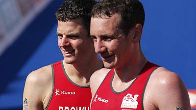 Triathlon - We'd love a boring 2019, say Brownlee brothers