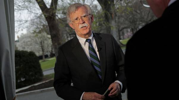 Exclusive: Trump eyeing stepped-up Venezuela sanctions for foreign companies - Bolton