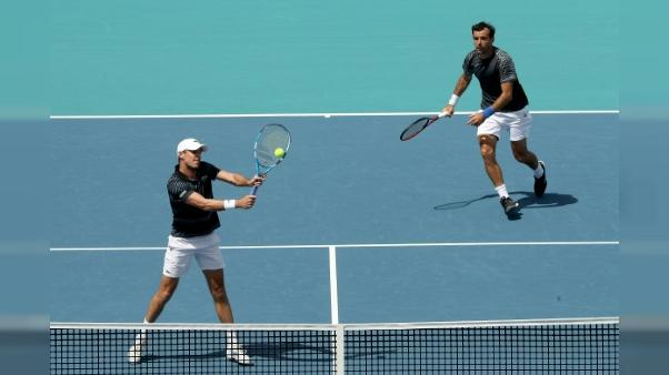 Tennis: Roger-Vasselin battu en demi-finales du double à Miami