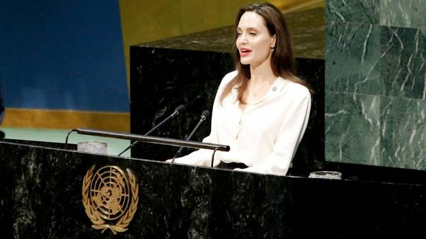 Angelina Jolie pushes for women to be part of Afghan peace talks