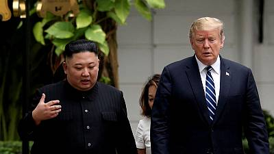 Exclusive: With a piece of paper, Trump called on Kim to hand over nuclear weapons