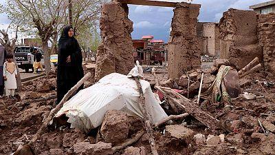 Afghanistan floods kill 17, worsen already desperate situation