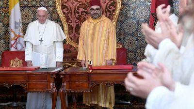 """Le pape et Mohammed VI prônent la """"coexistence pacifique"""" à Jerusalem"""