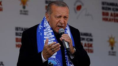 Erdogan says Turkey will solve Syria issue 'on the field' after Sunday's elections