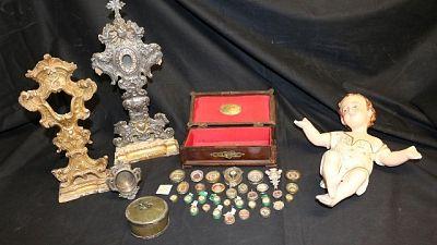 Furti: ritrovate 33 reliquie di santi
