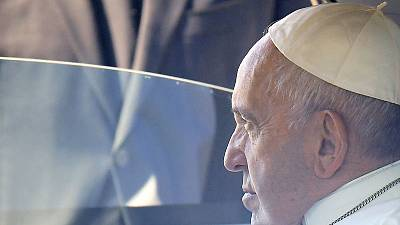 Pope arrives in Morocco for two-day trip