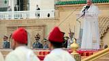 Pope in Morocco says physical barriers won't solve migration issue