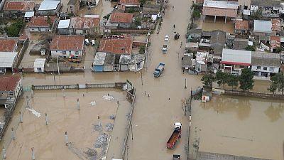 Iran evacuates flood-threatened villages after heavy rains kill dozens