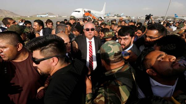 Afghan vice president narrowly escapes death for a second time