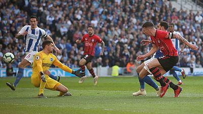 Hojbjerg strike gives Southampton 1-0 win at Brighton