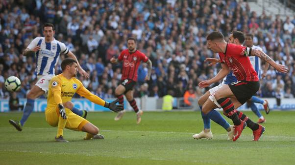 Hojbjerg strike gives Southampton 1-0 win at Brighton