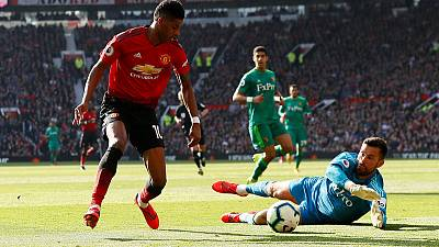 Rashford and Martial give United win over Watford