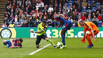 Huddersfield relegated from the Premier League after Palace defeat