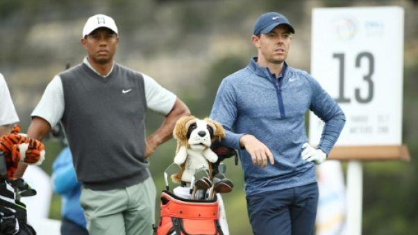 Championnat du monde de match-play: Woods bat McIlroy et va en quarts