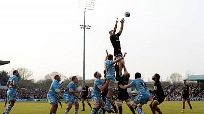 Rugby - Saracens swat Glasgow aside to reach Champions Cup semis