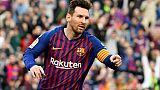 Espagne: Messi décante le derby, le Barça cavale en tête