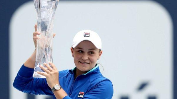 L'Australienne Ashleigh Barty remporte le tournoi de Miami le 30 mars 2019