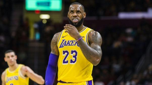 NBA: les Lakers mettent fin à la saison de LeBron James