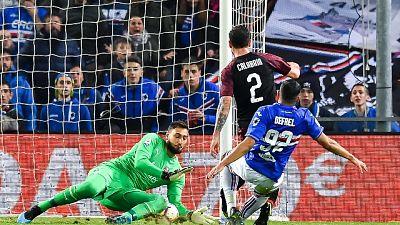 Sampdoria-Milan 1-0