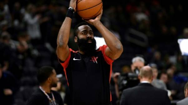 NBA: Harden survolté, Oklahoma City et San Antonio en play-offs