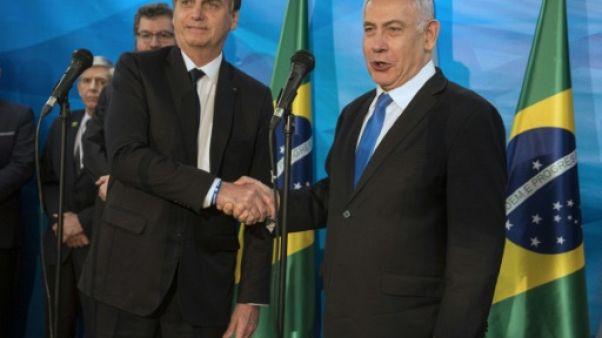 Bolsonaro, en visite en Israël, annonce un bureau diplomatique à Jérusalem