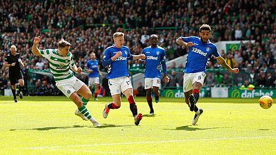 Late Forrest strike seals Celtic win over Rangers