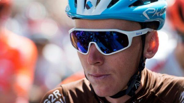 Cyclisme: suspicion de fracture aux côtes pour Bardet