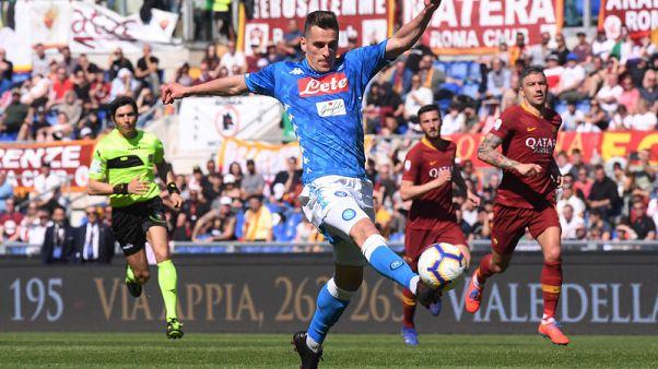 Ranieri's problems mount as Napoli thump Roma 4-1