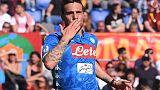 نابولي يسحق روما 4-1 ويزيد مشاكل رانييري