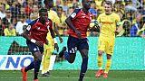 Ligue 1: Lille renverse Nantes et distance Lyon