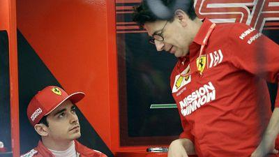 """F1: Binotto, """"problemi di affidabilità"""""""