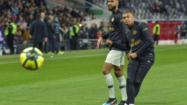 PSG: Mbappé en attaque avec Choupo-Moting et Nkunku, Thiago Silva sur le banc à Toulouse