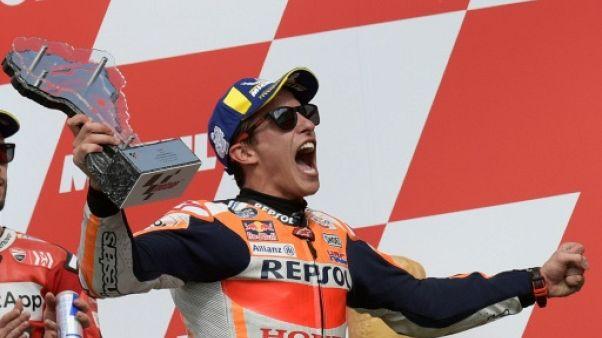 MotoGP: Marc Marquez remporte haut la main le GP d'Argentine