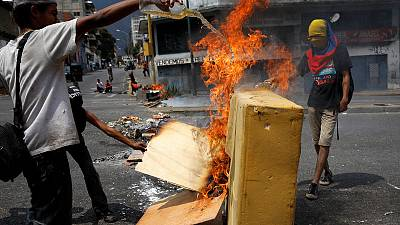 Venezuelans stage scattered protests over lack of power, water