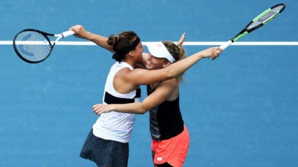 Tennis: après Indian Wells, Mertens et Sabalenka sacrées à Miami en double
