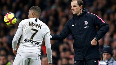 Mbappe strikes again as PSG close in on title