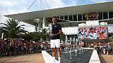 Le Suisse Roger Federer vainqueur du Masters 1000 le 31 mars 2019