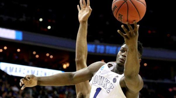 Basket NCAA: Duke et le phénomène Williamson éliminés
