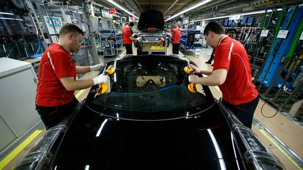 Euro zone factory activity contracts faster in March - PMI
