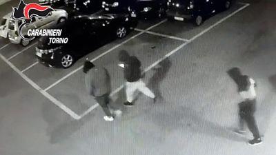 Identificati baby vandali Strambino