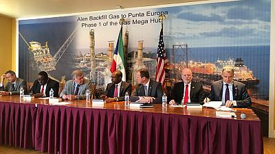 Equatorial Guinea and Major Oil and Gas Companies Sign Definitive Agreements  for Monetization of Gas from the Alen Unit