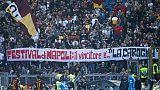 Cori contro Napoli, multata la Roma