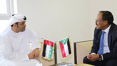 UAE Ambassador to Sudan meets Chairman of Union of Chambers of Commerce