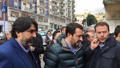 Salvini incontra pastori sardi